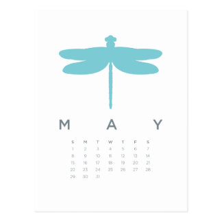 2011 calendar - may post cards