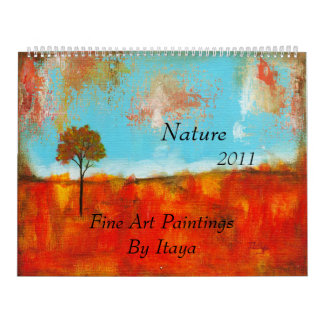 2011 Calendar Nature Fine Art Paintings