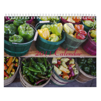 2011 Calendar - Veggies and Fruit