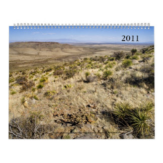 2011 Calendar; Western Landscapes (mostly) Wall Calendars