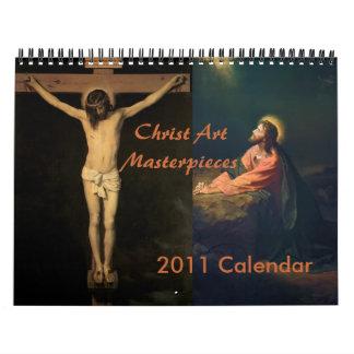 2011 Christ Art Masterpieces Calendar