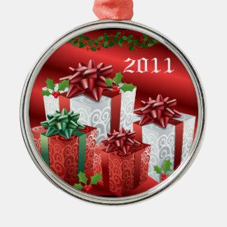2011 Christmas Presents Christmas Tree Ornaments