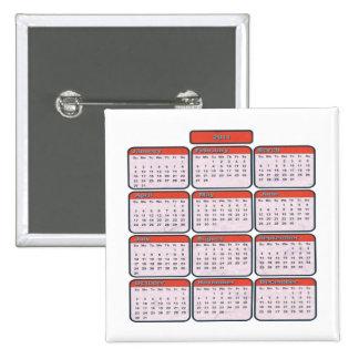 2011 Decorative Calendar Button