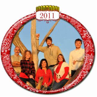 2011 Family Couples Kids Photo Christmas Ornament Photo Sculpture Decoration