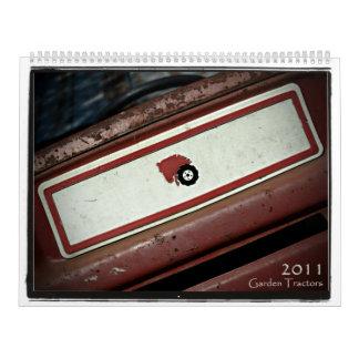 2011 Garden Tractors Calendars
