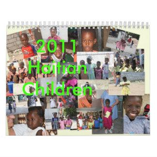 2011 Haitian Children Calendars