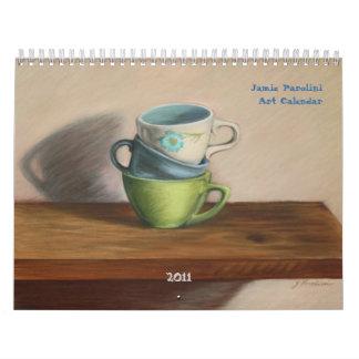 2011 Jamie Parolini Art Calendar