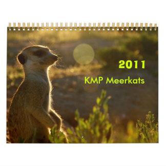 2011 KMP Meerkats Calendar