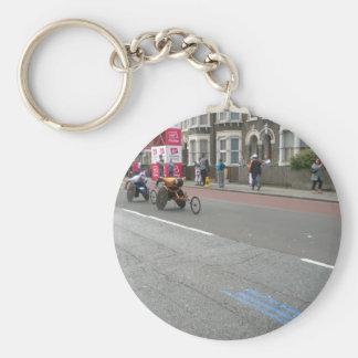 2011 Marathon in London Basic Round Button Key Ring