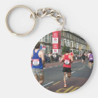 2011 Marathon in London Keychain