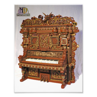 2011 MD Olde World Piano PhotoPrint Photo Print