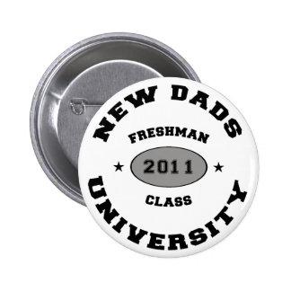 2011 New Dads 6 Cm Round Badge