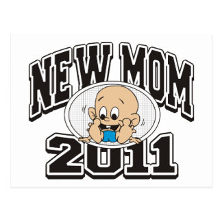 2011 New Mom Postcard