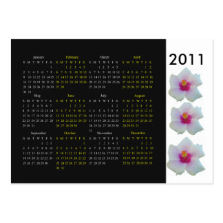 2011 Pocket hibiscus calendar with Business Card
