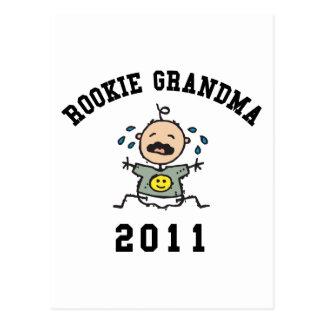 2011 Rookie Grandma Post Card