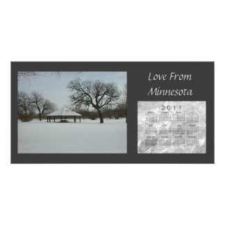 2011 Scenic Calendar Card