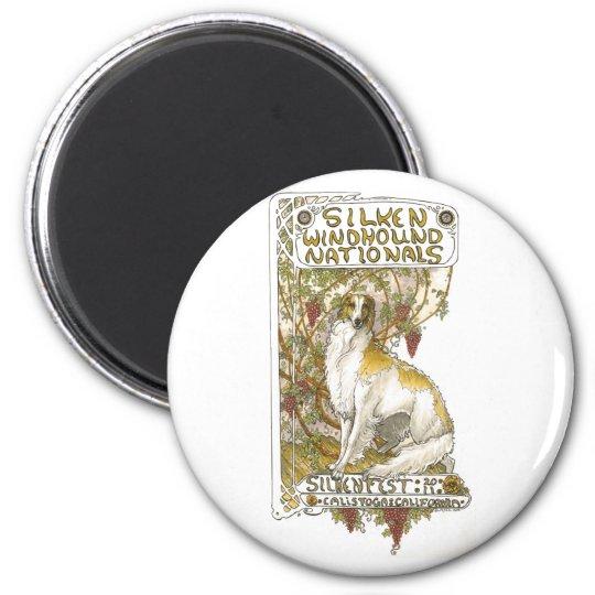 2011 Silkenfest logo magnet