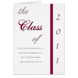 2011 Traditional Graduation Invitation