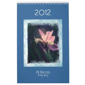 2012 Al Riccio Calendars