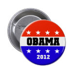 2012 Barack Obama Campaign Button