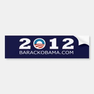 2012 Barack Obama Re-election Design Bumper Sticker