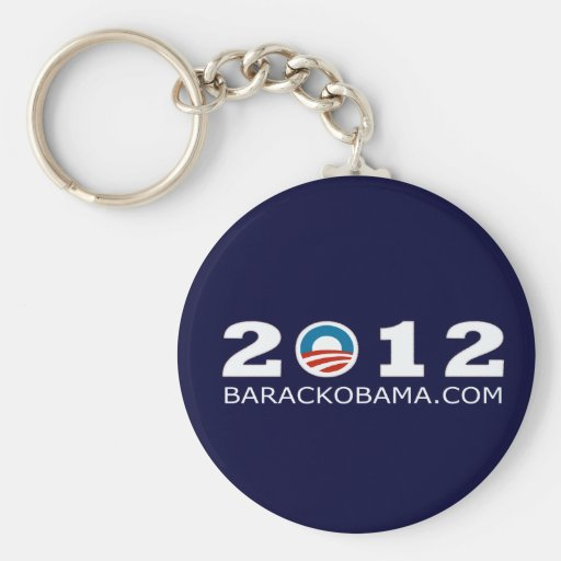 2012 Barack Obama Re-election Design Keychain
