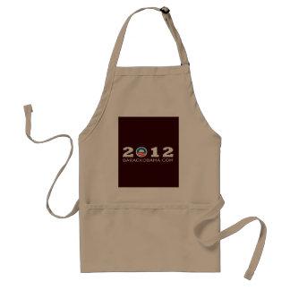 2012 Barack Obama Re-election Design Standard Apron