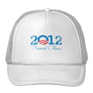 2012---BARACK-OBAMA-- Vintage png Hat