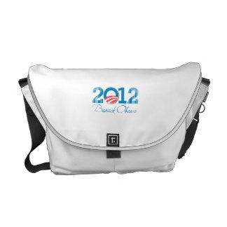 2012 - Barack Obama - Vintage png Courier Bags