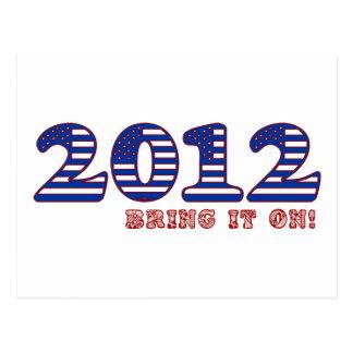 2012 Bring it on! Postcard