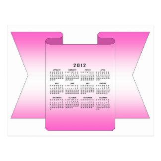 2012 Calendar Postcard