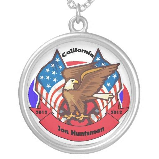 2012 California for Jon Huntsman Custom Jewelry