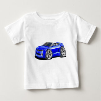 2012 Camaro Blue Convertible Baby T-Shirt