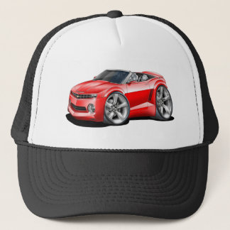 2012 Camaro Red Convertible Trucker Hat
