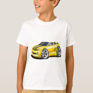 2012 Camaro Yellow-Black Convertible T-Shirt