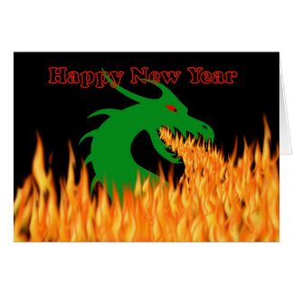 2012 Chinese New Year of the Dragon Vietnamese Card