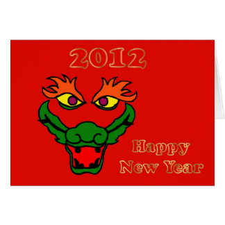 2012 Chinese New Year of the Dragon Vietnamese Greeting Cards