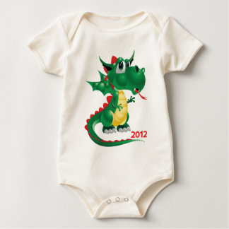 2012 Chinese New Year, The Year of The Dragon Baby Bodysuit