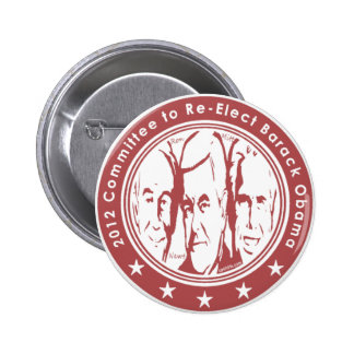 2012 Committee to Re Elect Barack Obama 6 Cm Round Badge