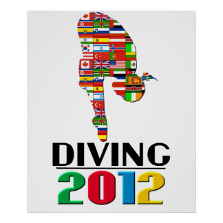 2012: Diving Poster