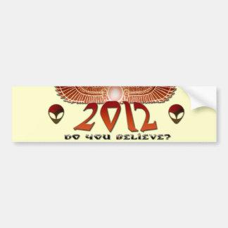 2012 Do You Believe Bumper Sticker