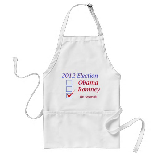 2012 Election Obama Romney Anunnaki Aprons