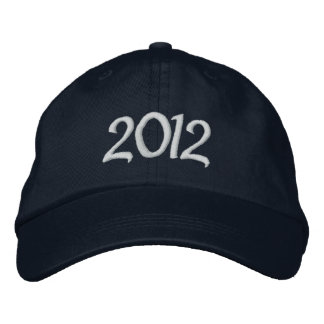 2012 Embroidered Cap Baseball Cap