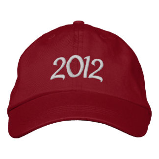 2012 Embroidered Cap Embroidered Baseball Cap