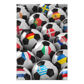 2012 European Soccer Championship Photo Art