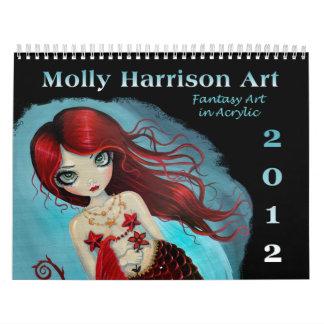 2012 Fantasy Art Calendar by Molly Harrison