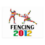 2012: Fencing Post Card