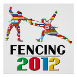 2012: Fencing Poster