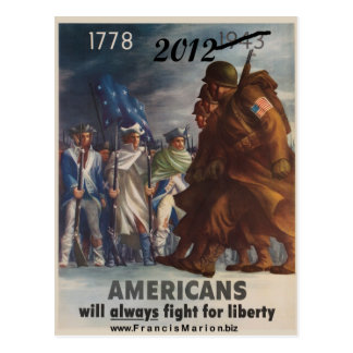 2012 Fight for Liberty Postcard