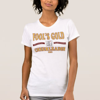 2012 Fool's Gold Cheerleader T-shirt